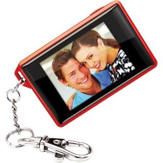 "Coby 1.8"" Digital Photo Frame Key Chain   Red"