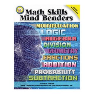 Frank Schaffer Publications/Carson Dellosa Publications Math Skills Mind Benders Bb Set