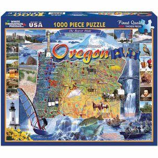 White Mountain Puzzles 1000 Piece Jigsaw Puzzle, Oregon State