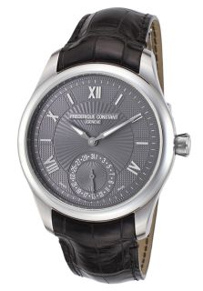 Men's Ltd. Ed. Maxime Manufacture Black Genuine Leather Charcoal Dial