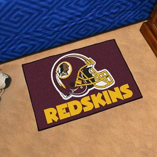 Officially Licensed NFL Team Logo Carpeted Starter Mat by Sports Licensing Solutions   Redskins   8224637