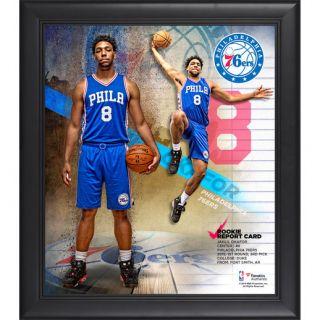 Fanatics Authentic Jahlil Okafor Philadelphia 76ers Framed 15 x 17 Rookie Report Card Collage