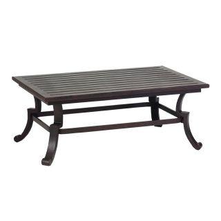 Sunset West 901 CT Newport Outdoor Rectangular Coffee Table in Mediterranean Bronze