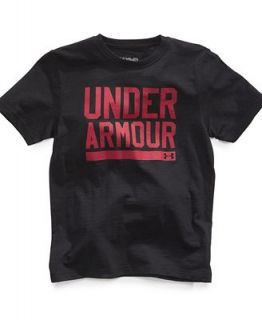 Under Armour Kids T Shirt, Boys Logo Graphic Tee   Kids