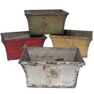 Selectives Derry 4 Piece Rectangular Planter Box Set