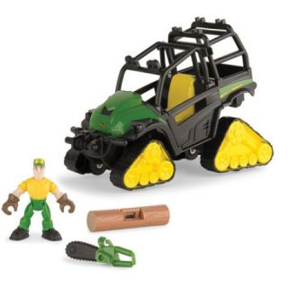 TOMY John Deere Gear Force Off Road Gator Adventure, Track Gator Play Set