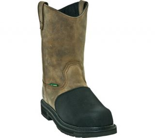Mens John Deere Boots Fire Resistant 11 Pull On Composite Toe 4370