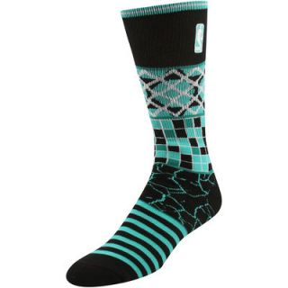 NBA Logo Smack Daddy Socks   Black/Teal