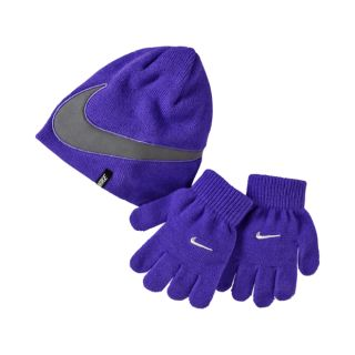 Nike Reflections Cold Weather Preschool Kids Knit Hat And Gloves Set