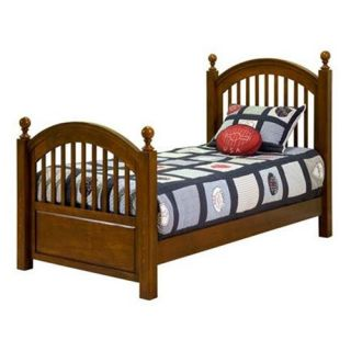 Legacy Classic Furniture 490 4103K American Spirit Twin Complete Low Post Bed