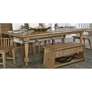 American Drew 425 760 Easy Living Leg Table KD in Stain