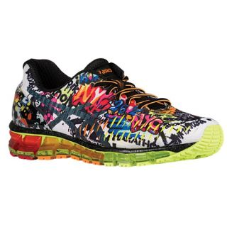 ASICS� GEL Quantum 360   Mens   Running   Shoes   White/Black/Safety Yellow/Graffiti