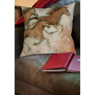 Thumbprintz Horse Fresco II Indoor Pillow