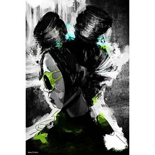 Maxwell Dickson Flight Girl Painting Print on Wrapped Canvas; 30 H x 20 W