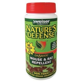 WEISER'S NATURE'S DEFENSE Mouse and Rat Repellent,22 oz. Weight   6TUK7|ND 1012MR   Grainger
