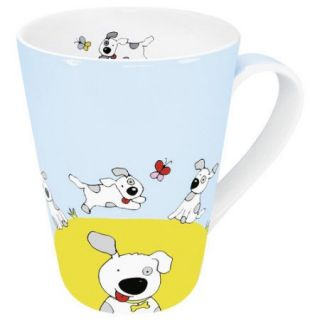 Konitz Animals Globetrotter Dog Mug (Set of 4)