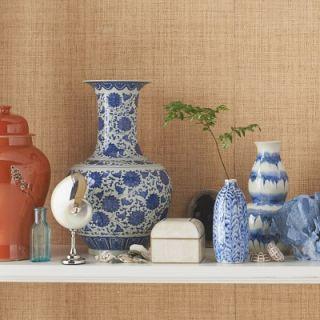 Blue & White Ginger Jar Gourd Vase