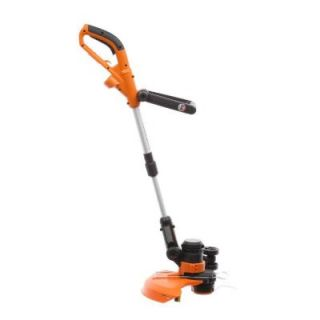 Worx 14 in. 5.0 Amp Wheeled Shaft Electric Grass Trimmer/Edger WG117