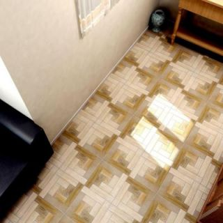 Merola Tile Cancun Nogal 12 1/2 in. x 12 1/2 in. Ceramic Floor and Wall Tile (11 sq. ft. / case) FCG12CCN