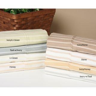 Harvard Stripe 300 Thread Count Duvet Cover Mini Set   11533802