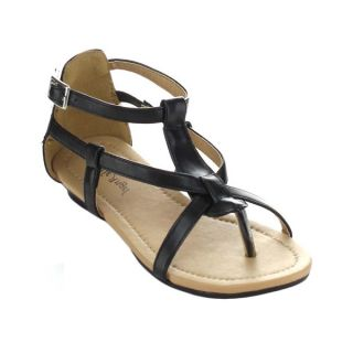 Little Angel Terry 747E Childrens Strappy Ankle Strap Thong Sandals