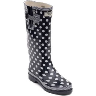 Womens Polka Dot Rubber Rain Boots   Shopping   Great Deals