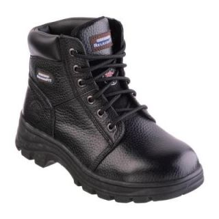 Skechers Workshire   Peril Women Size 9 Black Leather Work Boot 76561