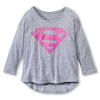 Supergirl Girls Graphic T Shirt