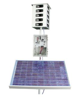 Bird X Mega Blaster with Solar Panel   Wildlife & Rodent Control