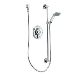 Moen 8346EP15 Single Handle Pressure Balanced Hand Shower Only Valve Trim with Slide Bar and Hose