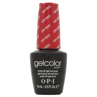 OPI Gelcolor Big Apple Red Soak Off Gel Nail Lacquer   15374719
