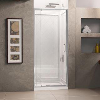DreamLine Flex 36 in. W x 36 in. D x 76.75 in. H Frameless Shower Door