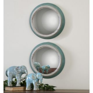 Uttermost Fanchon Round Mirrors   Set of 2   14.5W x 14.5H in.   Mirrors