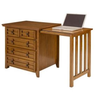 Home Styles Arts & Crafts Cottage Oak Expand a Desk DISCONTINUED 5180 93   Mobile
