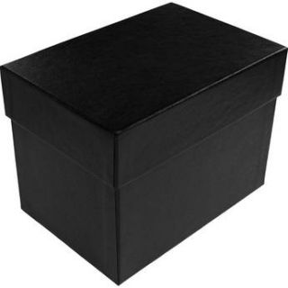 "Print File 4x6"" Black Proof Box (4.75"" Depth) 500 0104"