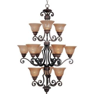 Maxim Lighting 11238 12 Light Chandelier
