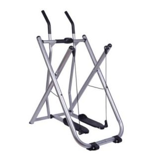 Soozier Folding Exercise Fitness Glider Machine Elliptical w/ Pedometer