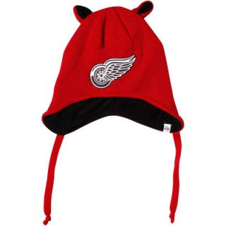 47 Brand Detroit Red Wings Toddler Little Monster Knit Hat   Red