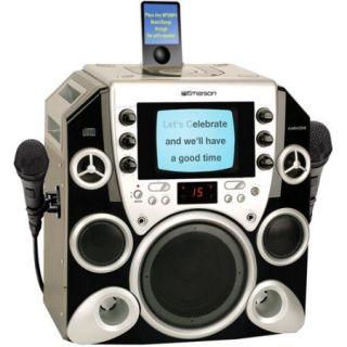 Emerson Karaoke PP650 Peak Power 650 Complete iPod Compatible CDG Karaoke System