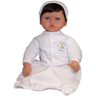 Me and Molly P. 20 inch Dark Brown/ Blue Eyes Nursery Baby Doll