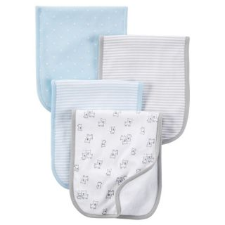 Just One You™ Made by Carters® Baby Boys 4 Pack Burp Cloth Set