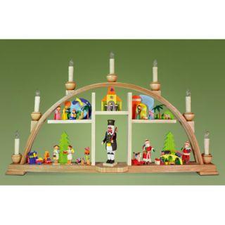 Alexander Taron Graupner Christmas Arch with Angel and LED Lighting