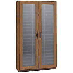 Safco Frosted Door Literature Organizer 58 14 H x 30 W x 14 D Medium Oak