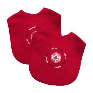 Baby Fanatic MLB Boston Red Sox 2 pack Baby Bib Set   17691333