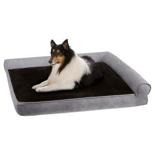 Duke Right Angle Bolster Lounger Pet Bed
