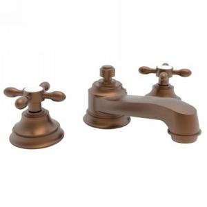Newport Brass NB1640 08A Astaire Antique Copper  Two Handle Widespread Bathroom Faucets