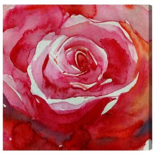 Blakely Home RedRose Canvas Art   17603312   Shopping