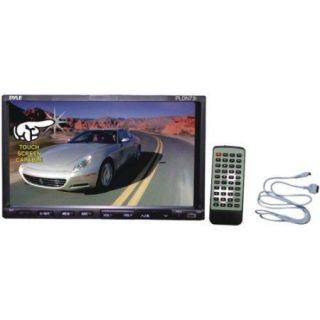 7'' Double DIN TFT Touch Screen DVD/VCD/CD/MP3/MP4/CD R/USB/SD MMC Card Slot/AM/FM/iPod Connector