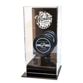 NHL 2015 Winter Classic Mirror Back Hockey Puck Display Case