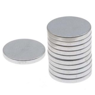 "Neodymium Rare Earth Super Magnets, For Hobby Crafts 12x1.5mm (1/2x1/16"") N35 Strength, 10 Pieces"
